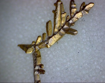 Beautiful Crystallized Dendritic Gold specimen