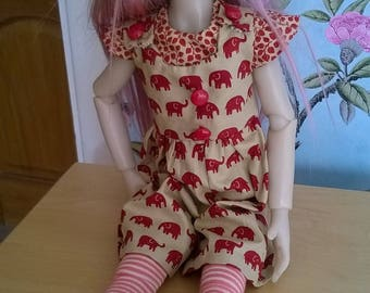 Split skirt outfit Kaye wiggs dolls