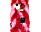 Large Stuffing Free Christmas Dog Toy with Crinkle, Heart Fortune & Squeaker - Yule by Fugly Friends