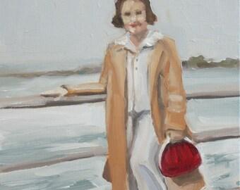 Original figurative oil painting