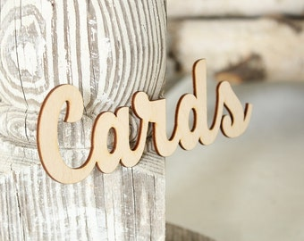 Cards Sign Card Box Sign Rustic Wedding Card Box