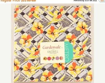 SALE Gardenvale Moda Fabrics Layer Cake by Jen Kingwell 10 inch squares Ready to Ship