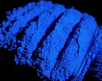 Matte Royal Blue Eye Shadow Num. 193 Le Papillon – Flat Bright Cobalt Ultramarine Blue Mineral Eyeshadow –  Loose Pigment Eye Makeup - Vegan
