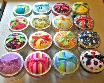 Mason Jar Pin Cushion Sewing Kits-Group #2
