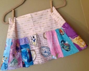 Every Princess skirt- 5t, 6, 6x, 7ready to ship - Belle, Cinderella, Disney, Snow White,