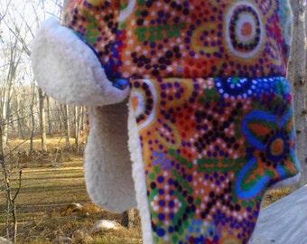 Hipster  Girl Trapper Bear Hat 12-18mo Toddler Lumberjack Hat