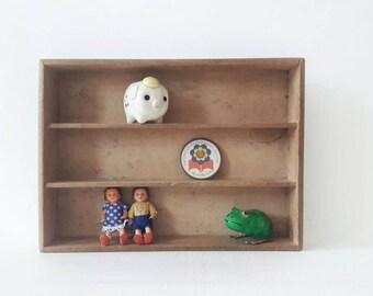 Vintage Wooden Display Child Nursery Decor