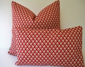 Red Pillow Cover Red Medallion Pillow Ballard Designs Red Pillow Cover Gillian Red Geometric 0