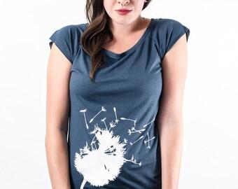 Pusteblume - ORGANIC Viskose Shirt Damen