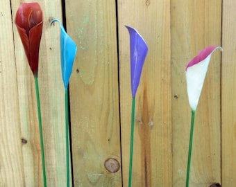 Calla Lilly Hand crafted by a blacksmith in the Missouri Ozarks USA