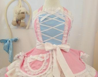 Girls Bo Peep Apron, Dress Up/Halloween Costume, Kid's Apron, Toy Story, Disneybound