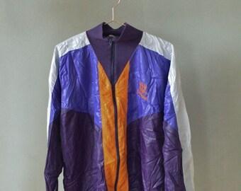 SALE Windbreaker jacket Unisex VINTAGE 90's waterproof windproof jacket