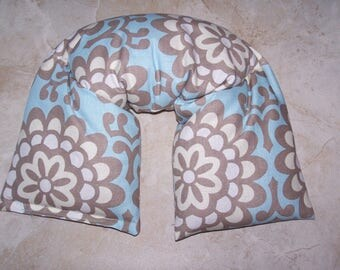 Neck & Shoulder Wrap  Pillow,  Heating Pad Ice Pack Flax seed therapy pillow wallflower in sky