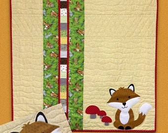 The Fox baby quilt pattern