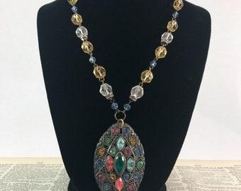 OOAK Vintage Assemblage Necklace