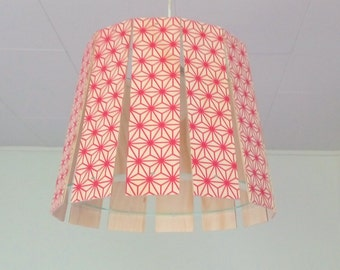 "Objectify ""Red Pattern"" Printed Paling Light Shade"