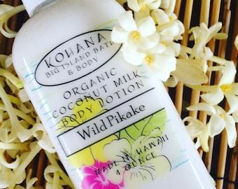 WILD PIKAKE (JASMINE)-Organic Coconut Milk Body Lotion