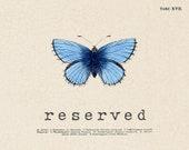 Reserved for Linda