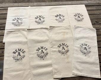 8 pack of Bemis A Extra Heavy Seamless sacks. 1102163