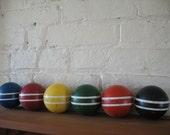 Vintage Croquet Balls - Six - Home Decor