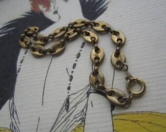 Vintage Raw Brass Bracelets 2Pcs.