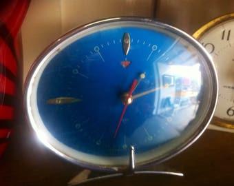 Funky blue atomic clock