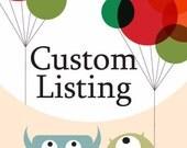 Custom listing for Leo Phillips