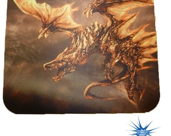 Flying Dragon Anti Slip PC Gamer Picture Mouse Pad