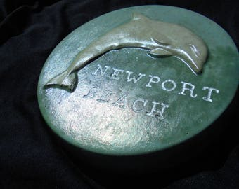 Garden Dolphin Stone, Personalized, Shipping Included