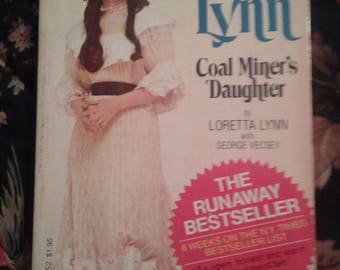 Loretta Lynn Coal Miner's Daughter autobiography paperback