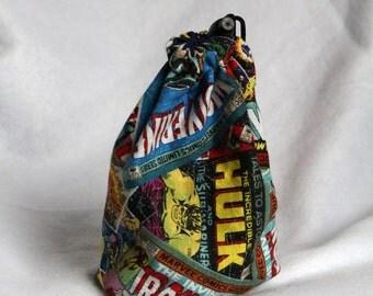 Reversible Marvel Dice Bag