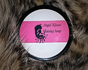 Angel Kisses for lady's shaving needs.  By Badger Creek Studio