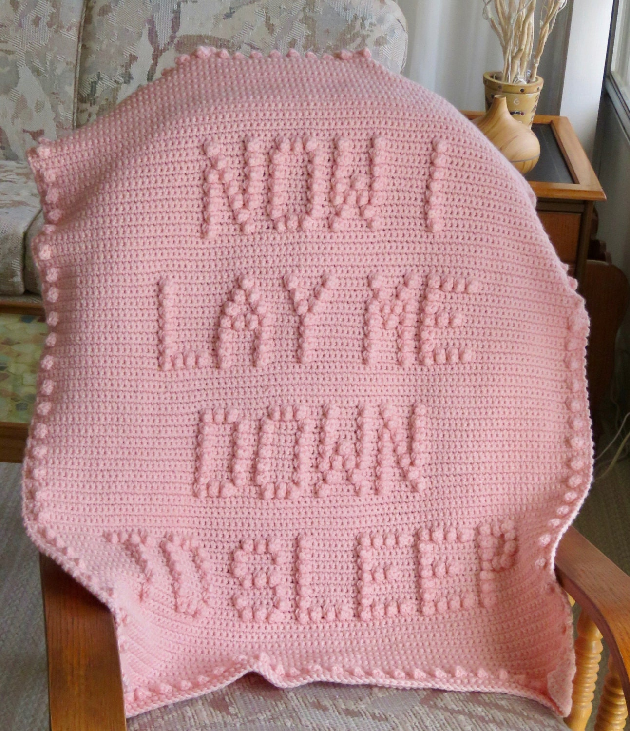 Now i lay me down to sleep wall decal - Now I Lay Me Down To Sleep Crochet Baby Blanket Pattern Baby Blanket Pattern Blanket Pattern