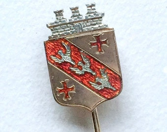 Coat Of Arms Pin Etsy