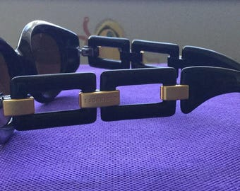 KARL LAGERFELD sunglasses Black vintage made in france