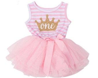 1st Birthday Tutu Dress - 9-12 month size