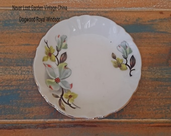 Butter Pats Plate Dogwood Royal Windsor Hammersley Vintage