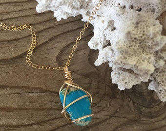 Short n Sweet Turquoise Necklace