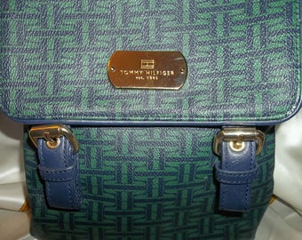 Tommy Hilfiger Purse..Like New Condition...Designed LOGO..Free Shipping