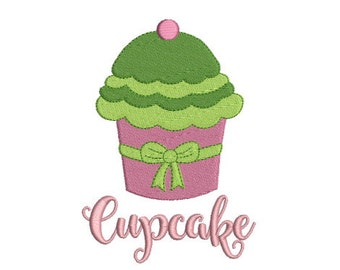 Embroidery design machine cake cupcake instant download
