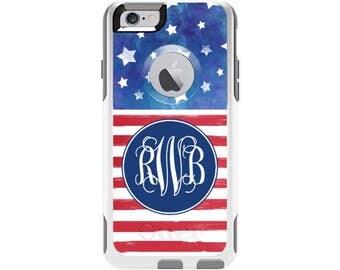 America Personalized Custom Otterbox Commuter Case for iPhone 6 and iPhone 6s | Personalized Phone Case