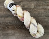 classic {sock} | FLAMINGO | ready to ship | hand dyed yarn | merino nylon