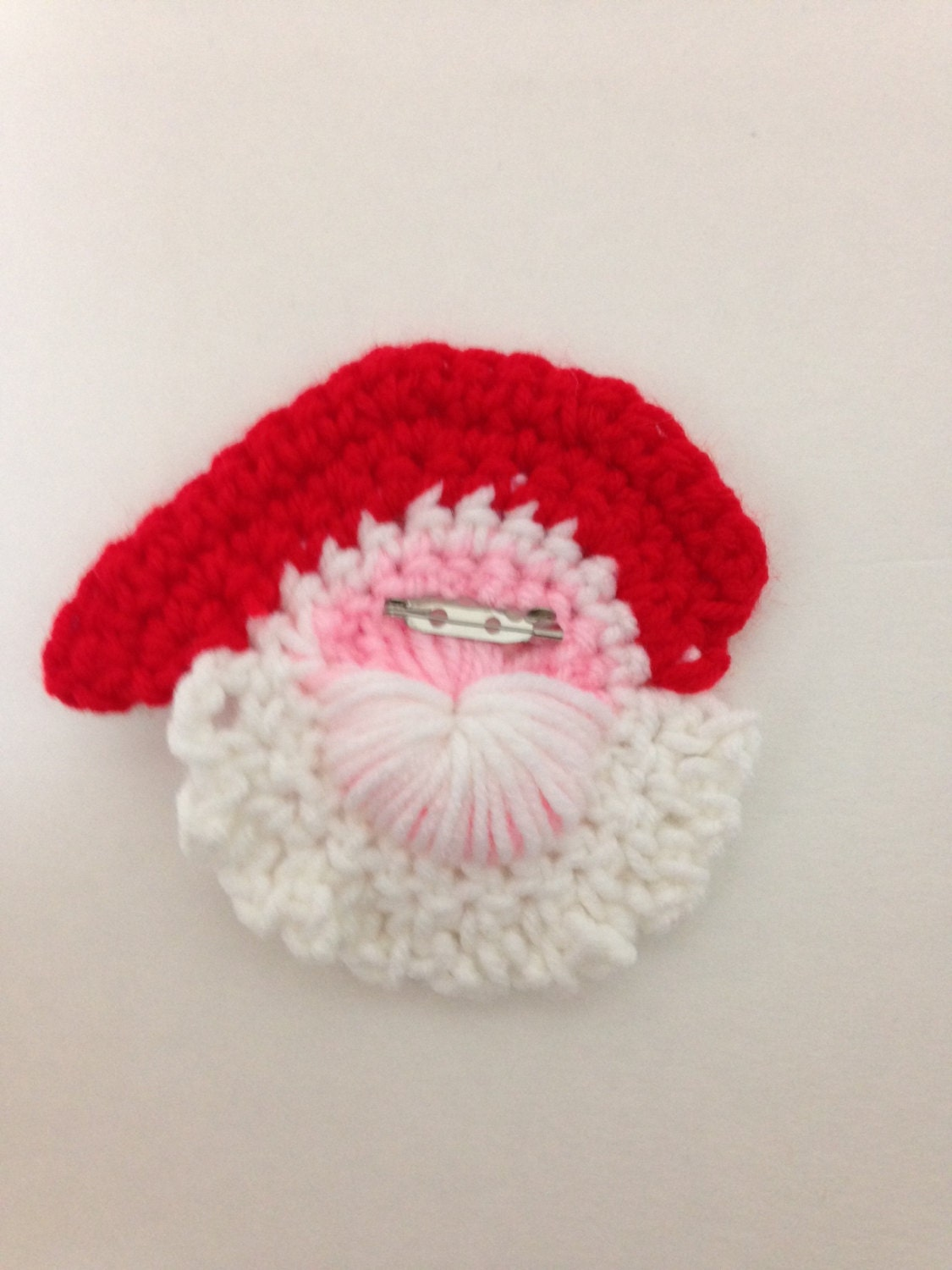 Crochet santa lapel pin pattern santa claus holiday crochet this is a digital file bankloansurffo Image collections