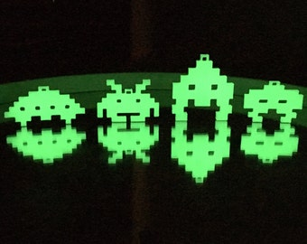 Glow in the Dark 3D Space Invaders