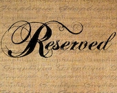 RESERVED FOR LAURIE