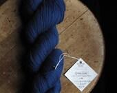 Starry Night 3/8 Fine Merino Organic Wool Yarn Green Line