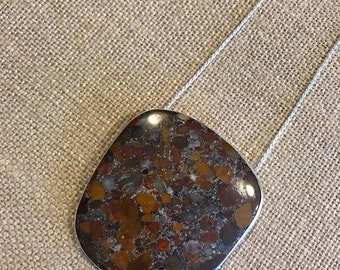Red River Jasper Pendant