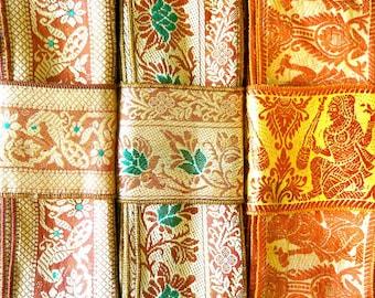 Vintage Sari borders, Sari Fabric SR551