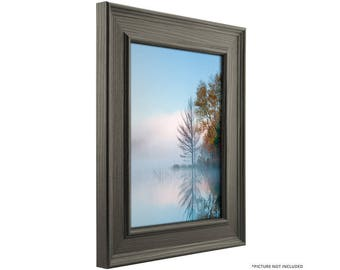 "Craig Frames, 24x32 Inch Gray Oak Barnwood Picture Frame, Revival 2"" Wide (766589552432)"