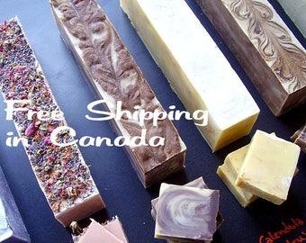 Bulk Soap Loaf - Bulk Soap Log - Bulk Soap - Uncut soap - Soap Slab - Free Shipping - Discounted Shipping